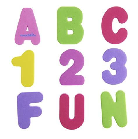 bathroom numbers munchkin 36 bath letters and numbers pastel only 3 78