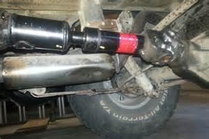 002 jeep wrangler yj rear driveshaft angle cv joint slip