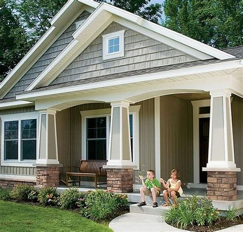 craftsman front porch pin by ritzmma on for the home pinterest