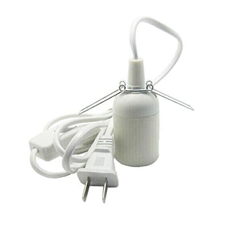 Hanging L Cord And Socket by Smartdealspro 6 Hanging Lantern Cord E26 E27 Light Bulb Socket To 2 Prong Us Ebay