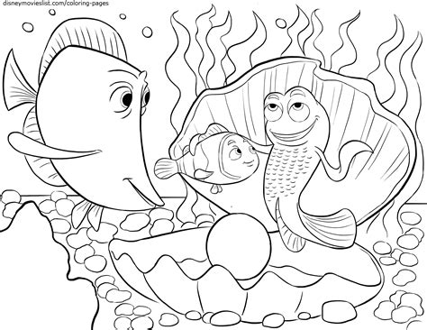 disney nemo coloring pages free disney s finding nemo coloring pages sheet free disney