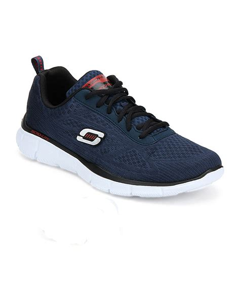 skechers sport shoes reviews skechers navy running sport shoes price in india buy