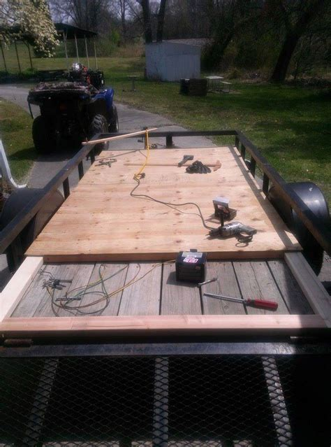 Rv Floor Construction by Diy Teardrop Cer Made From Recycled Materials