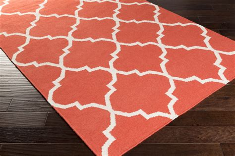 Coral Area Rug with Artistic Weavers York Mallory Awhd1015 Coral White Area Rug
