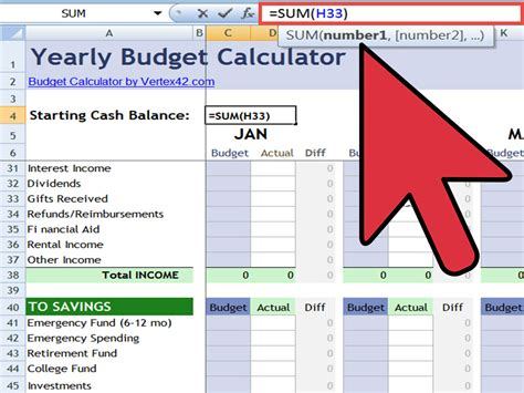 Setting Up An Excel Spreadsheet by How To Set Up Excel Spreadsheet For Budget Spreadsheets
