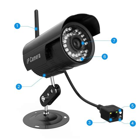 kamera zewnetrzna ip wifi hd cctv monitoring