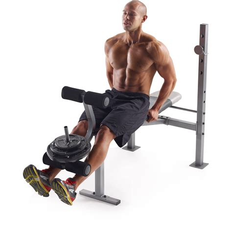 olympic weight bench set ebay weight bench olympic set w weights adjustable rack