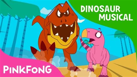 The Dinosaur S Diary the diary of t rex the dinosaur musical pinkfong stories for children
