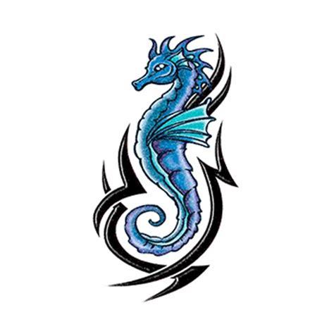 seahorse tribal tattoo tribal seahorse