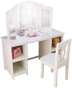 Kidkraft Makeup Vanity Table Kidkraft Deluxe White Mirror Vanity Table Stool