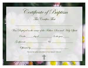 free water baptism certificate template free water baptism certificate template certificate
