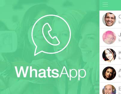 whats app style photos whatsapp ios 7 style design on behance