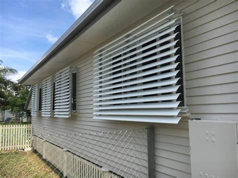 luxaflex aluminum louvre awnings capricorn screens
