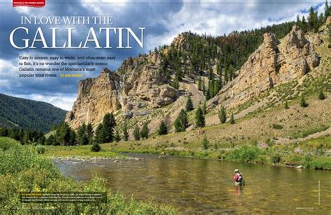 fishing the gallatin river montana 44 best montana outdoors magazine images on pinterest