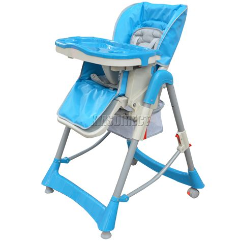 Folding High Chairs For Babies Uk by Foldable Baby High Chair Recline Highchair Height Adjustable Feeding Seat New Ebay