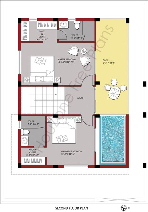 home design 100 sq yard second floor plan for 200 sq yards plot size houzone