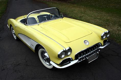 corvette 1959 color panama yellow autos post
