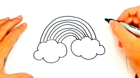 imagenes de criaturas mitologicas para dibujar c 243 mo dibujar un arco iris paso a paso dibujo f 225 cil de
