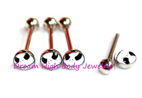 aliexpress buy tongue bar 14g skull tongue ring