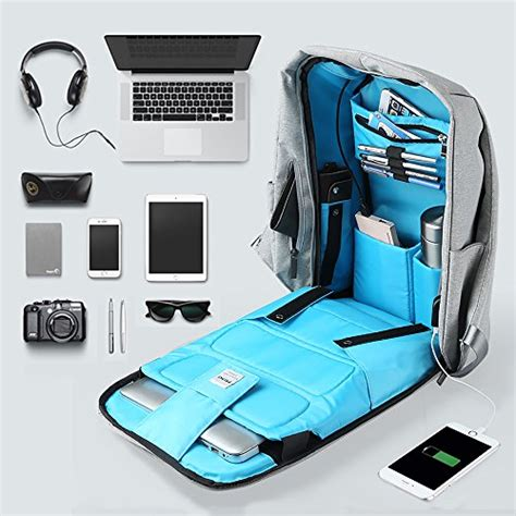 Backpack Laptop Bag Travel With Usb Port D8205w 17 3 Inch Olb1868 oscaurt travel anti theft backpack business laptop backpack college students book bag with usb