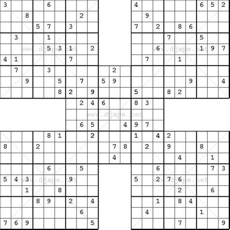 printable mixed sudoku 8 best samurai sudoku images on pinterest samurai
