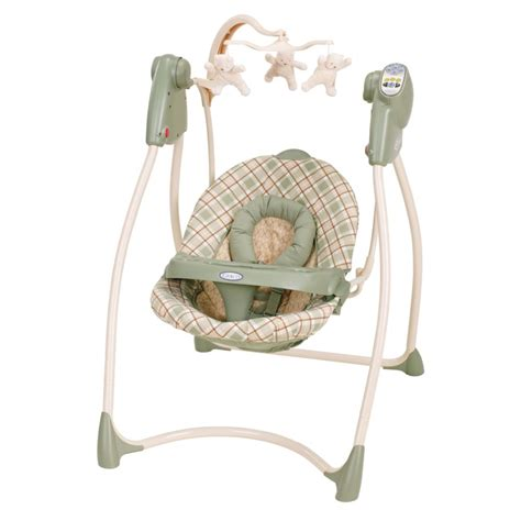 graco little lamb swing swings bouncers sugar lass baby store