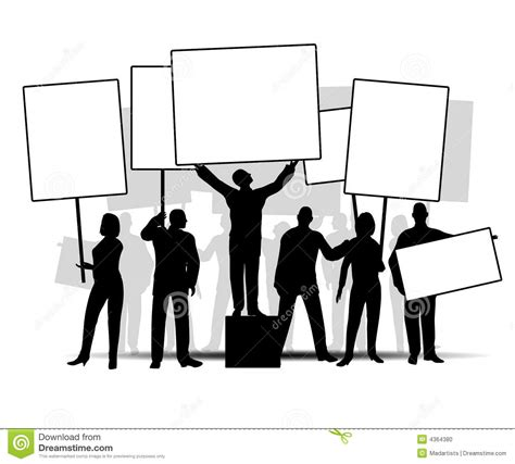 Protest Sign Clipart