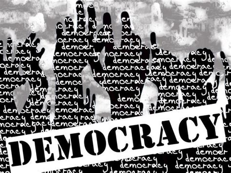 design is not a democracy consensus political parties rally around democracy the