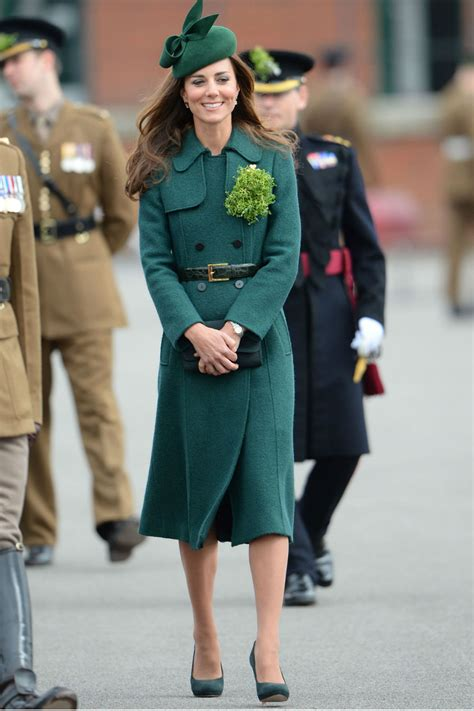 s day kate hazeltine kate middleton wears new green coat to st s day parade