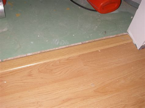 laminate flooring door transition ourcozycatcottage com