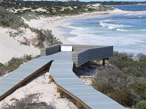 sandy cape recreation park boardwalk project ods