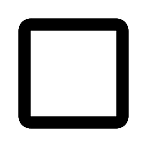 fileic check box outline blank pxsvg wikimedia commons