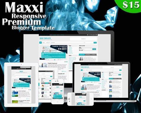 ivy themes themes blogger maxxi premium responsive blogger template ivythemes