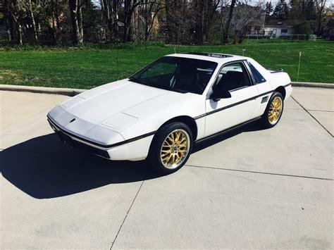 old car manuals online 1985 pontiac fiero security system 1985 pontiac fiero 2m6 for sale 50895 mcg