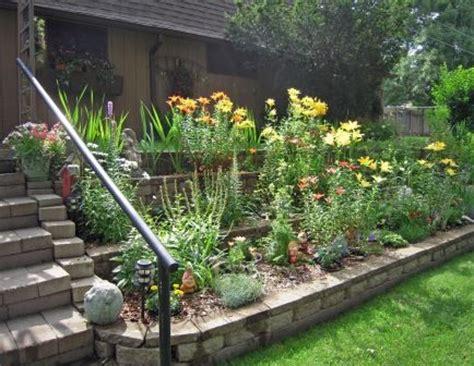 best 25 tiered landscape ideas on pinterest sloped backyard landscaping deck ideas sloped