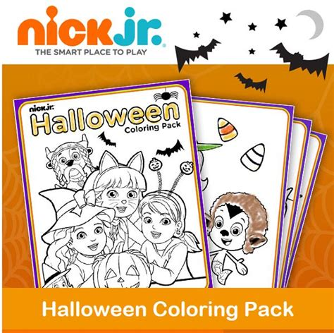 fall coloring pages nick jr 21 best images about halloween fall fun on pinterest