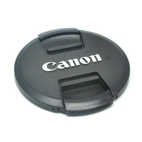 Lensa Canon cover tutup lensa kamera canon 82mm black jakartanotebook