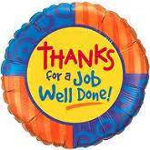 Thank You For A Well Done by Thanks Thank You Balloons
