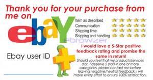 ebay feedback templates 100 ebay feedback reminder dsr 5 generic cards