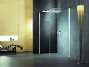 glas dusche elegante glas duschkabinen badezimmer design inspiration