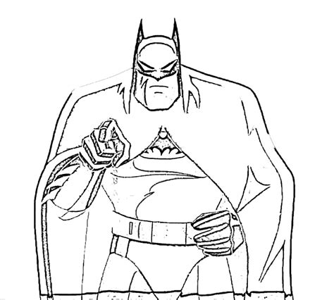 coloring book pages of batman free printable batman coloring pages for