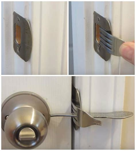 make your home more secure with a fork lock iseeidoimake