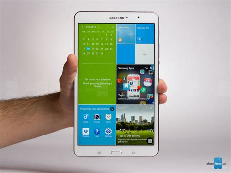 samsung galaxy tab pro 8 4 review phonearena