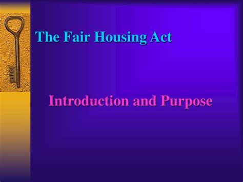 1974 Fair Housing Act by Ppt The Fair Housing Act Rights And Remedies Powerpoint