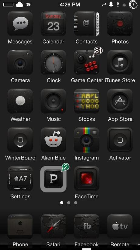 themes for jailbreak iphone 5 5 th 232 mes pour iphone jailbreak ios 7 224 ios 7 1 1 paperblog