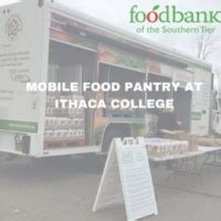 Ithaca Food Pantry by Intercom Mobile Food Pantry Returning To Ic