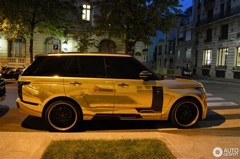 gold chrome range rover gold plated range rover pixshark com images