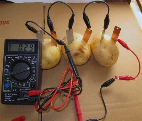 Yasma Elektrik limondan ve patatesten elektrik 220 retimi proje hocam