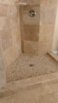 Java tan pebble tile shower flooring pebble tile shop