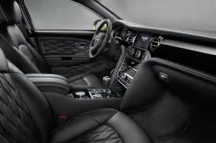 Bentley Mulsanne Interior 2017 Bentley Mulsanne Refreshed Adds Extended Wheelbase